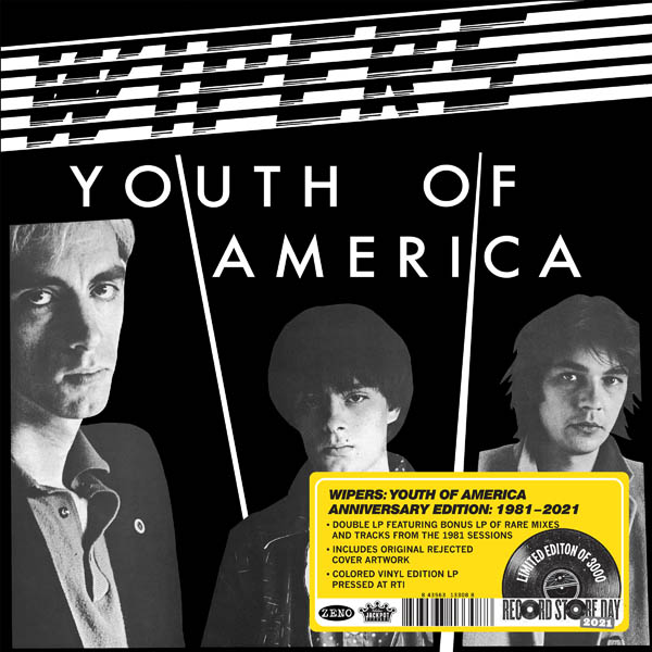 Wipers Youth of America Anniversary LP-2